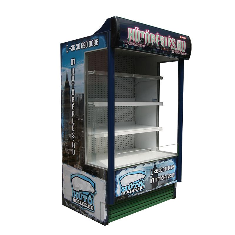 MC13 nyitott hűtőregál